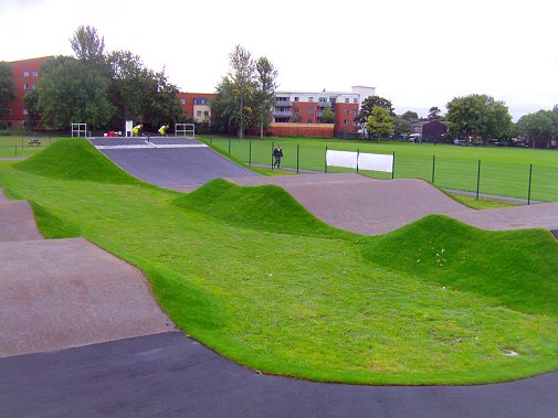 Image result for hornfair park bmx track